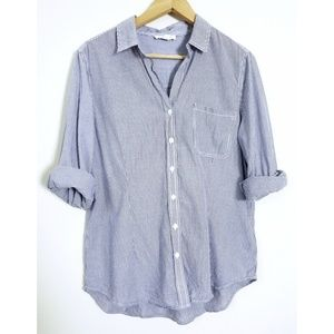 Sonoma Life + Style Stripped Button Down Shirt